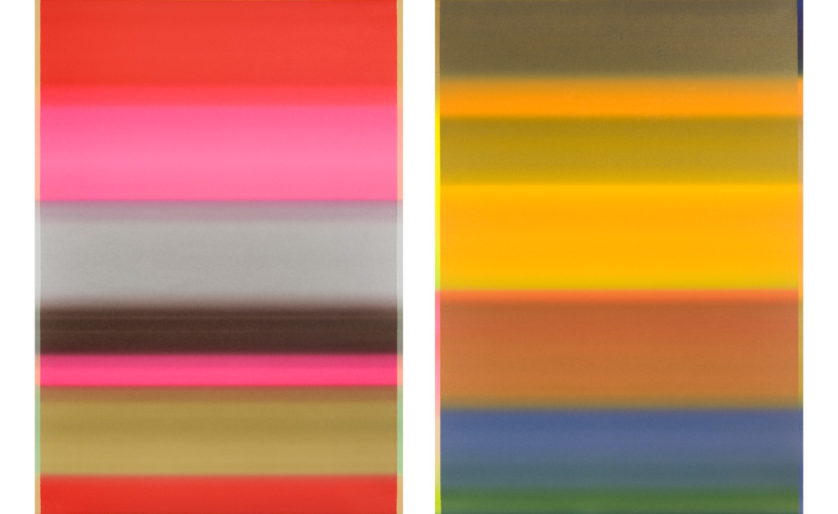 """Nicolás Consuegra, """"Sin título (campos de color)"""", 2006."""